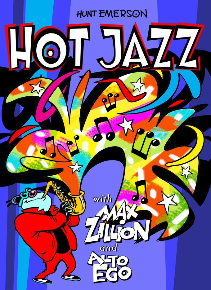 Hot Jazz by Hunt Emerson