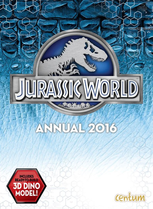 Official Jurassic World Annual 2016