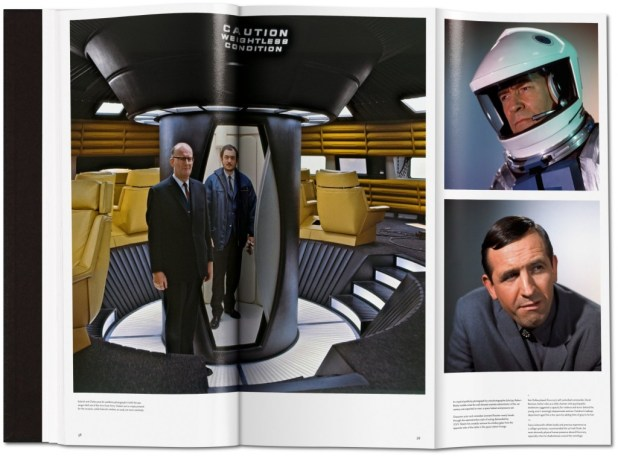 The Making of Stanley Kubrick's '2001: A Space Odyssey' - Sample Spread