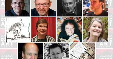 Lakes International Comic Art Festival Presenters 2015
