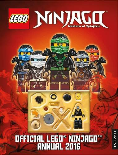 The Official Lego Ninjago Annual 2016
