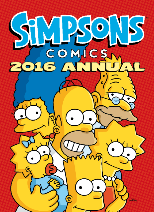 The Simpsons Annual 2016