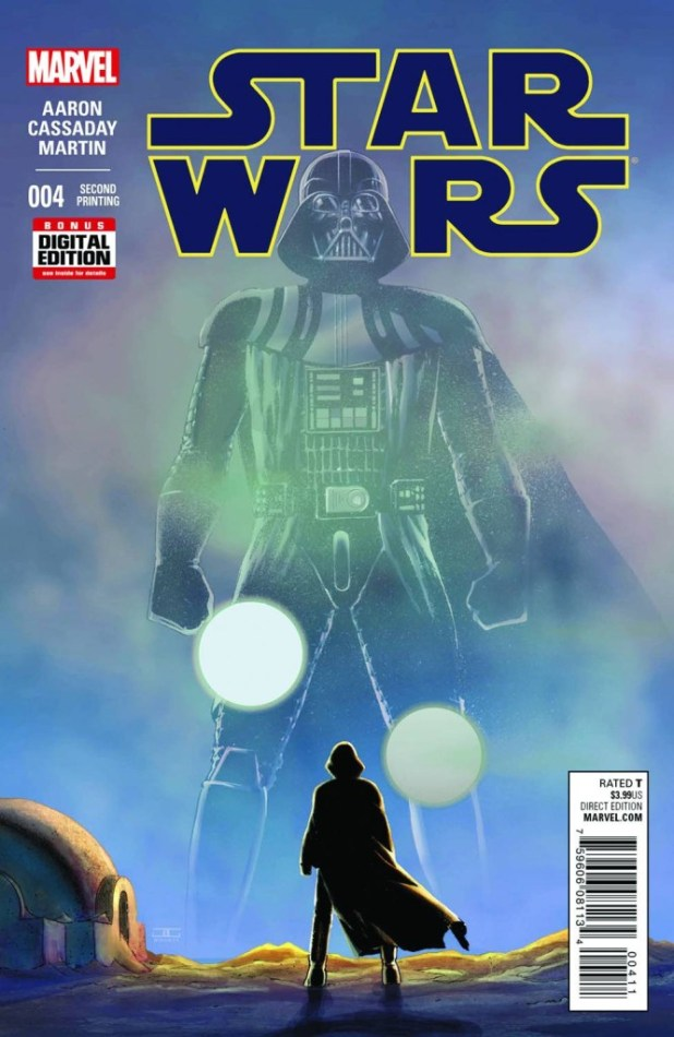 Star Wars #4 Cassaday Second Printing Variant