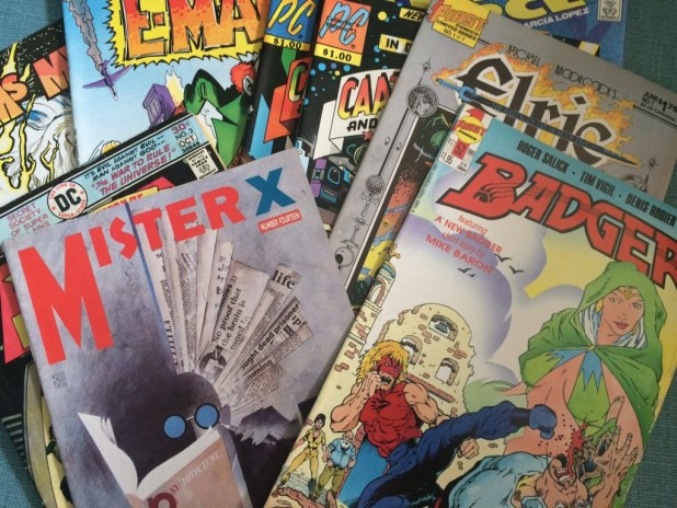 London Comic Mart - August 2015 - Comics Haul. Photo: Antony Esmond