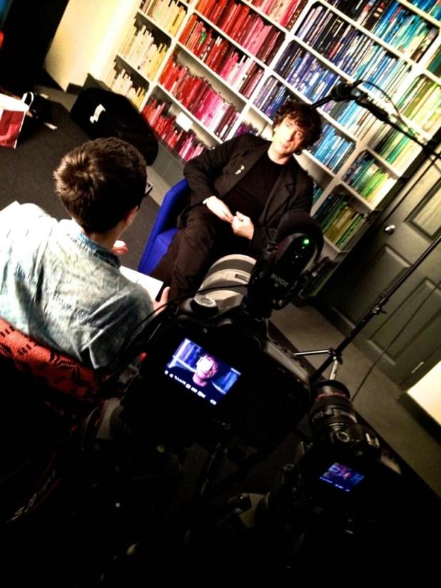 Neil Gaiman. Image courtesy © Stanton Media