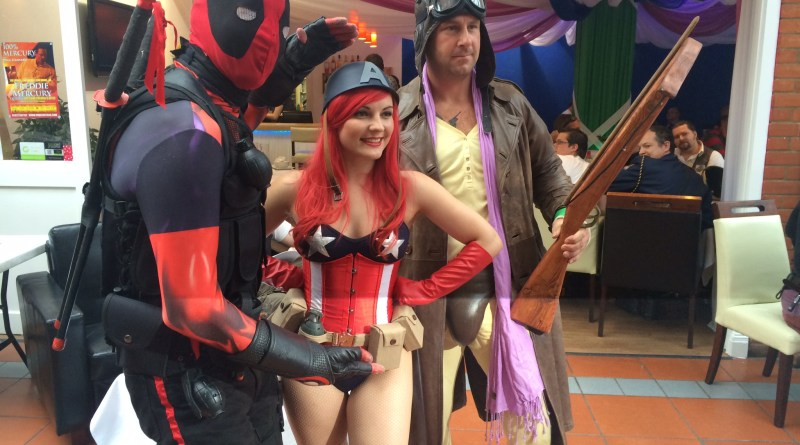 Cosplayers enjoying their day at DemonCon X. Photo: Tony Esmond