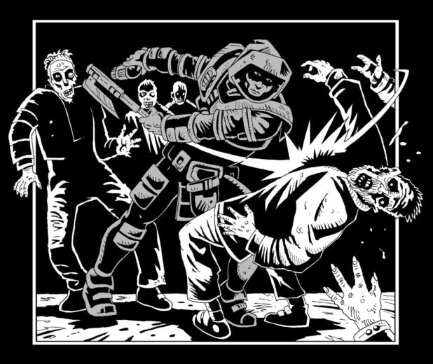 Shaman Kane - Battling Zombies