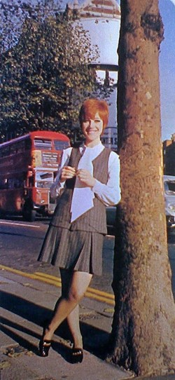 Kiki Dee in 1964. Photo: Roger Perry, featured in the Century 21 publication Alphabeat.