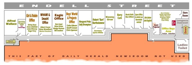 96 Long Acre, the old Daily Herald Building. Click to view at a larger size. Graphic: Roger Perry