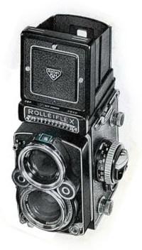 A Rolleiflex Camera