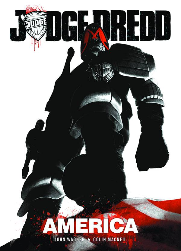 Judge Dredd America Trade Paperback