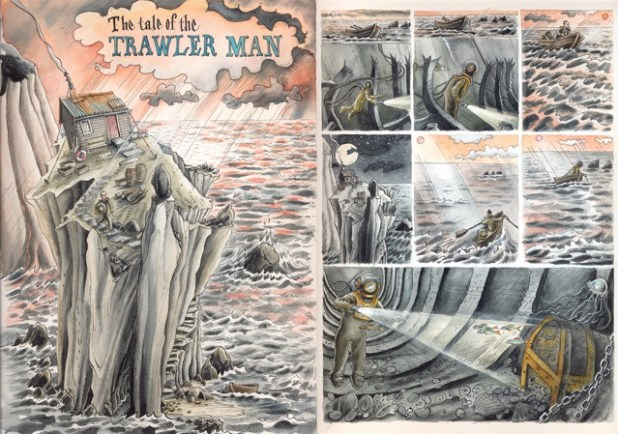 Tales From the Deep: The Tale of the Trawler Man by Martin Ursell