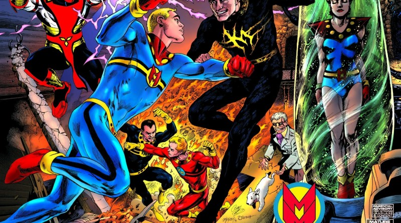 Miracleman #1 Volume 2 variant cover by Garry Leach, Alan Davis, John Totleben and Rick Veitch