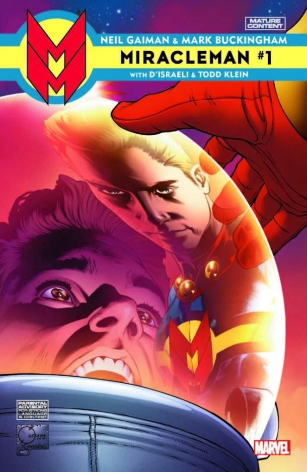 Miracleman #1 Volume 2 variant cover by Joe Quesada