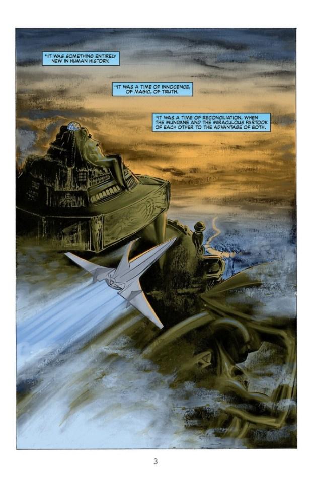 Miracleman #1 Volume 2 Sample 1