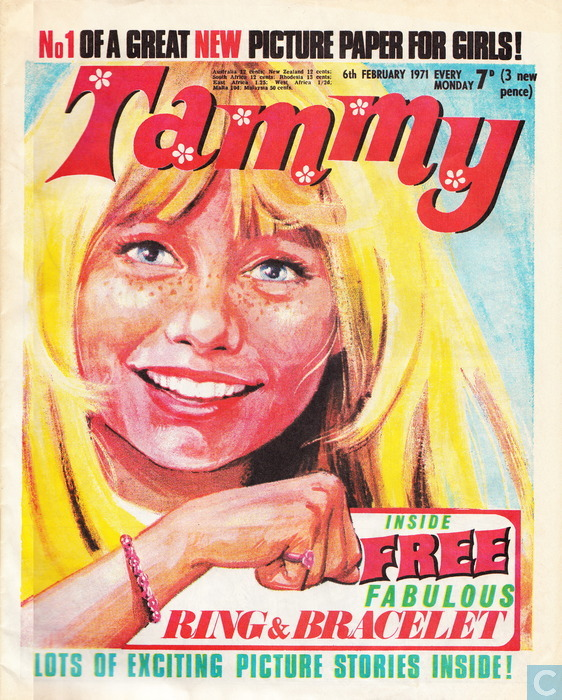 Tammy Issue 1 - 6th February 1971