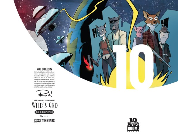 Wild's End: The Enemy Within #1 10 Years Cover by Rob Guillory