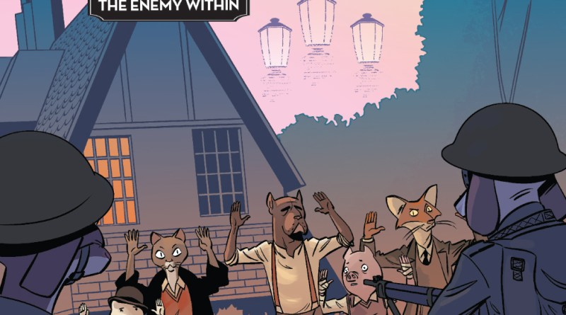 Wild's End: The Enemy Within #1 Main Cover by I.N.J. Culbard