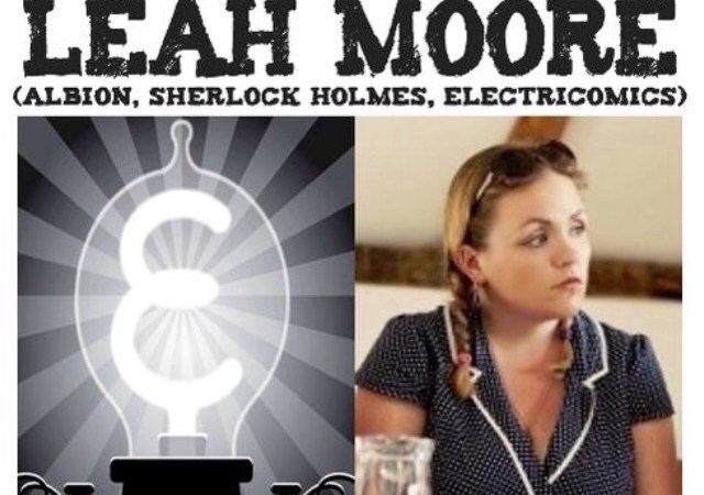 It's Electrifyin'! Awesome Comics Podcast features  Leah Moore