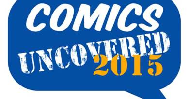 Comics Uncovered Logo - 2015