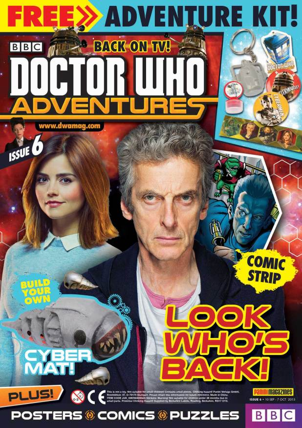 Doctor Who Adventures #6 - Cover