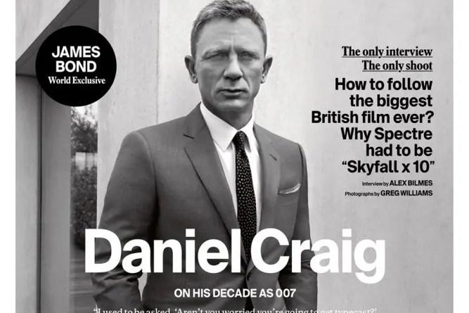 Esquire 43 (2015) - Daniel Craig
