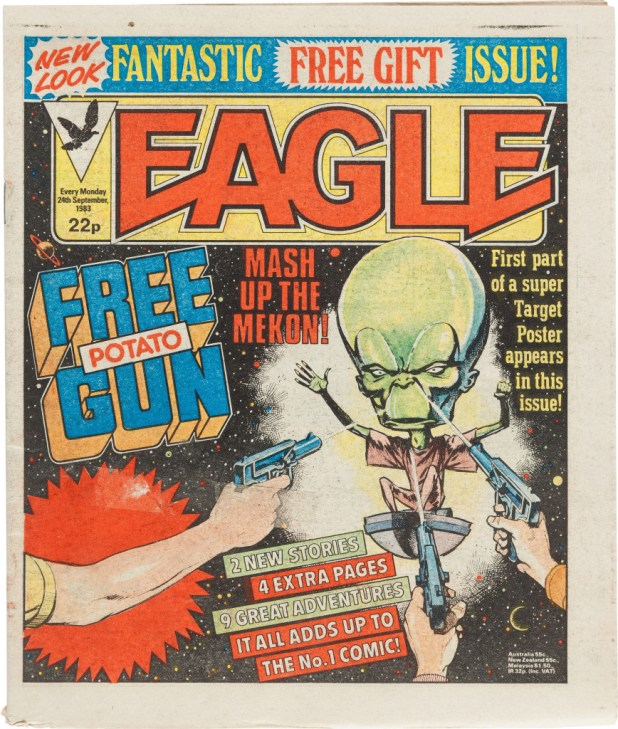 "All change at ""New Eagle"" in September 1983 - and probably not for the better for many readers at the time."