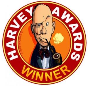 Harvey Awards Winner Logo