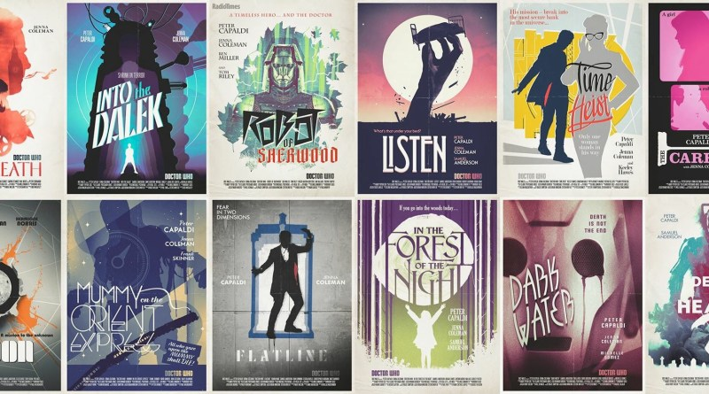 Doctor Who Promotional Posters by Stuart Manning