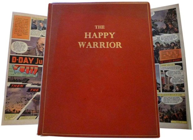The Happy Warrior Cover
