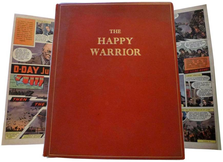The Levenger Press edition of The Happy Warrior, published in 2008