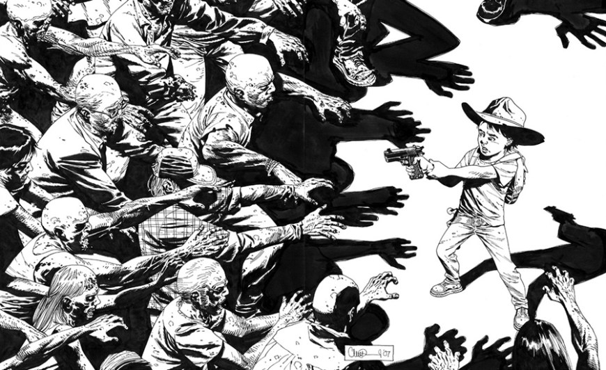 Charlie Adlard: The Walking Dead