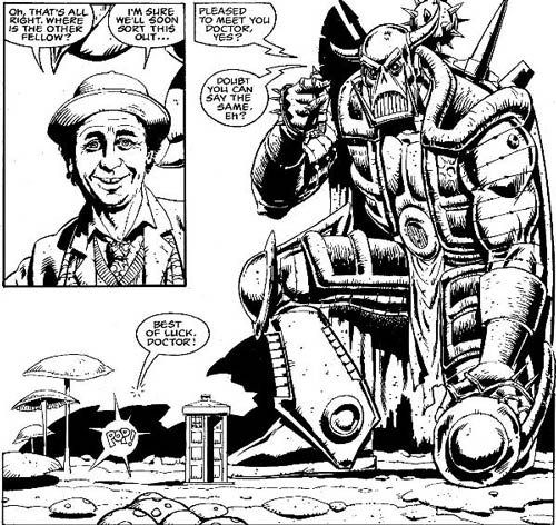 Crossroads of Time, published in Doctor Who Magazine Issue 135