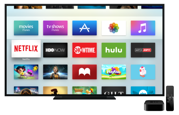 The new-look Apple TV is being well received. Image: Apple
