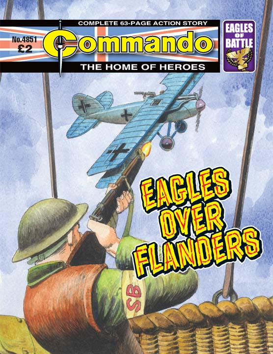 Commando No 4851 – Eagles Over Flanders