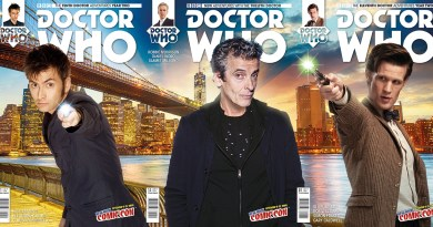 Doctor Who NYCC 2015 Tryptych