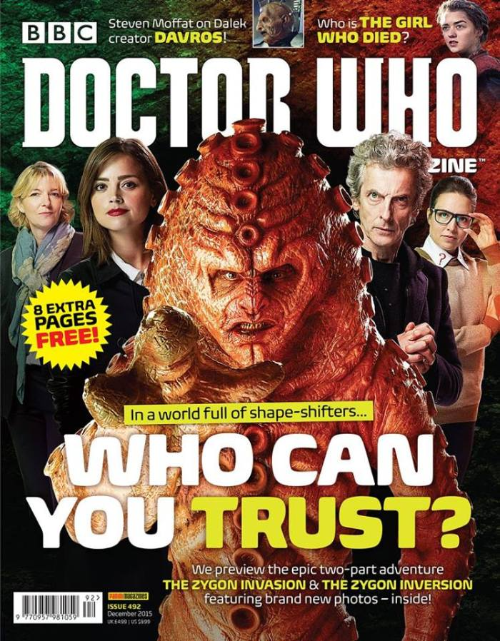 Doctor Who Magazine Issue 492