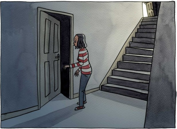 Art from Three Rooms in Valerie's Head by Dan Berry