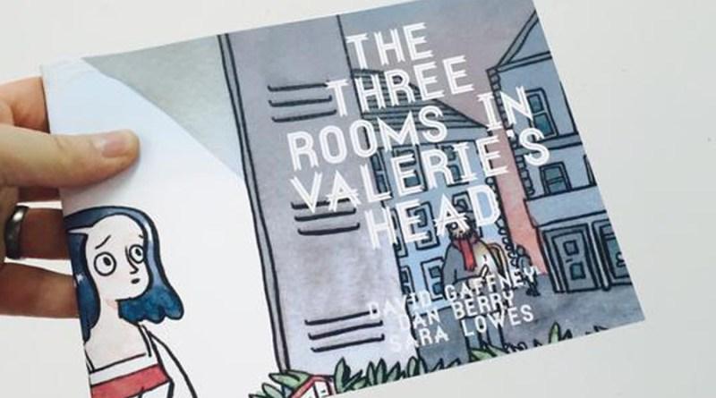 Three Rooms in Valerie's Head by Dan Berry