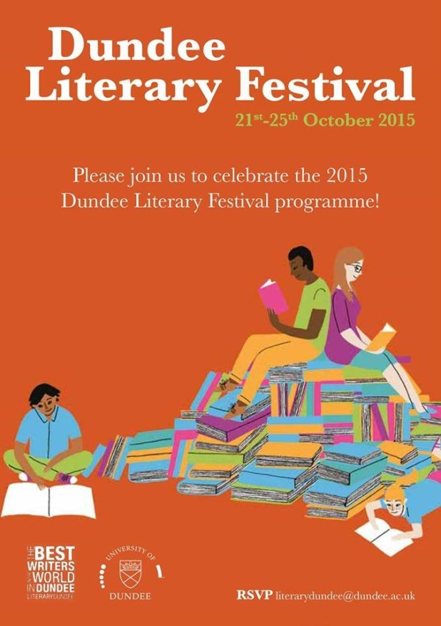 Dundee Literary Festival Poster 2015