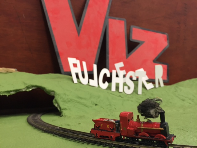 Fulchester Railway, brought to life by students at Kendal College in partnership with VIZ.