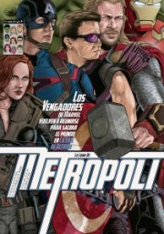 Metropoli cover by Guillermo Ortego