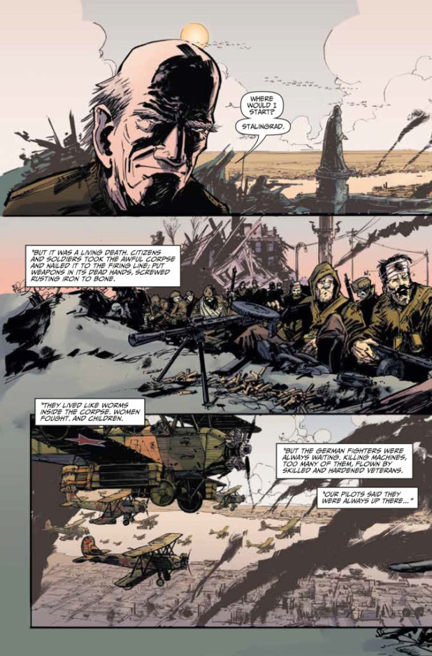 Johnny Red #1 Preview 1