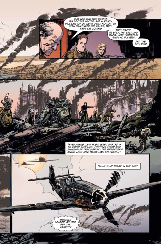 Johnny Red #1 Preview 2