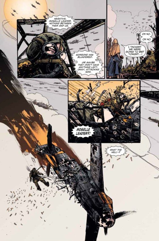 Johnny Red #1 Preview 3