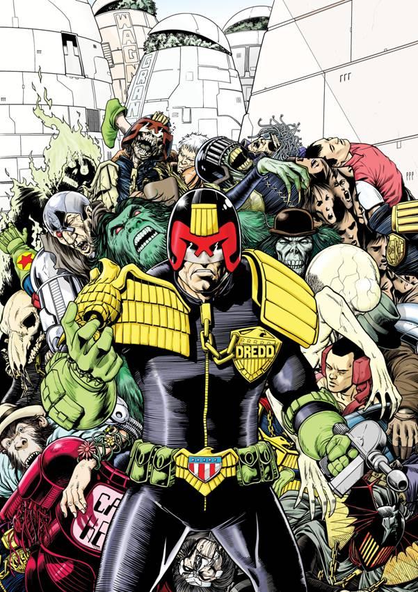 Judge Dredd Megazine 365 Cover Art