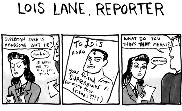 Kate Beaton - Lois Lane