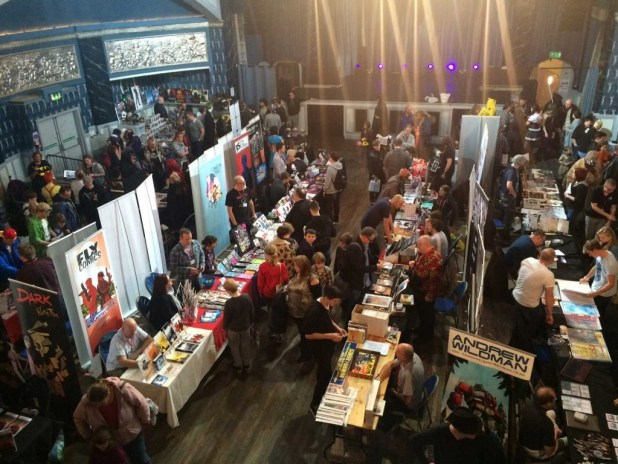Bustling: Leamington Comic Con 2015. Photo: Antony Esmond