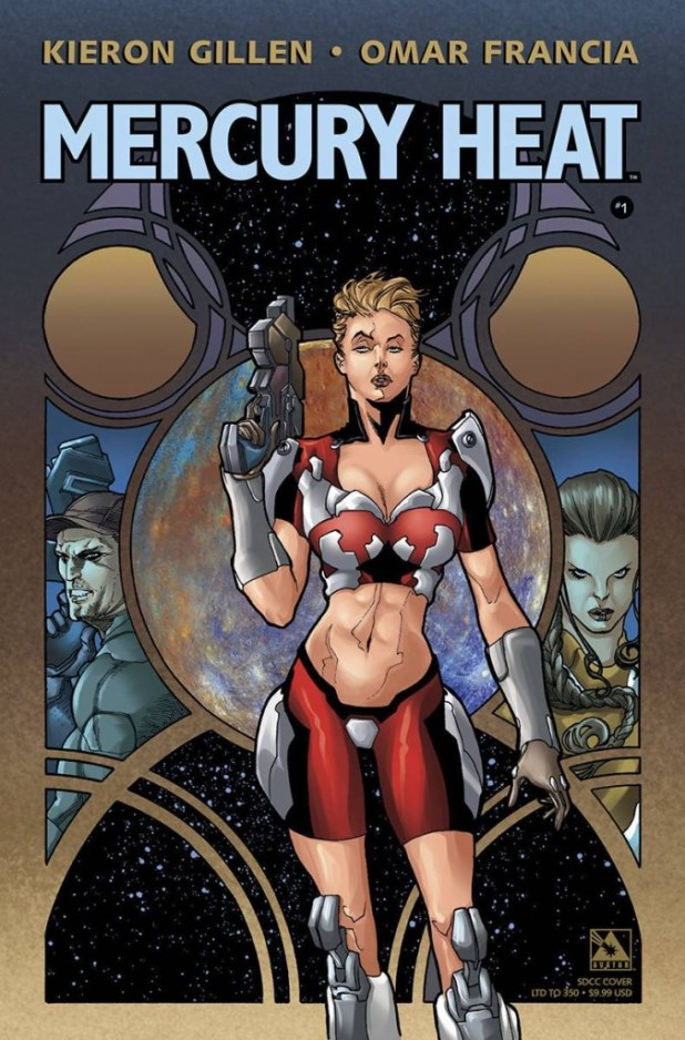 Mercury Heat #1 San Diego Comicon Cover