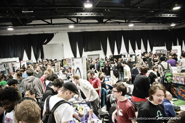 Photo: Michael Bracewell. Photo courtesy of Thought Bubble Festival